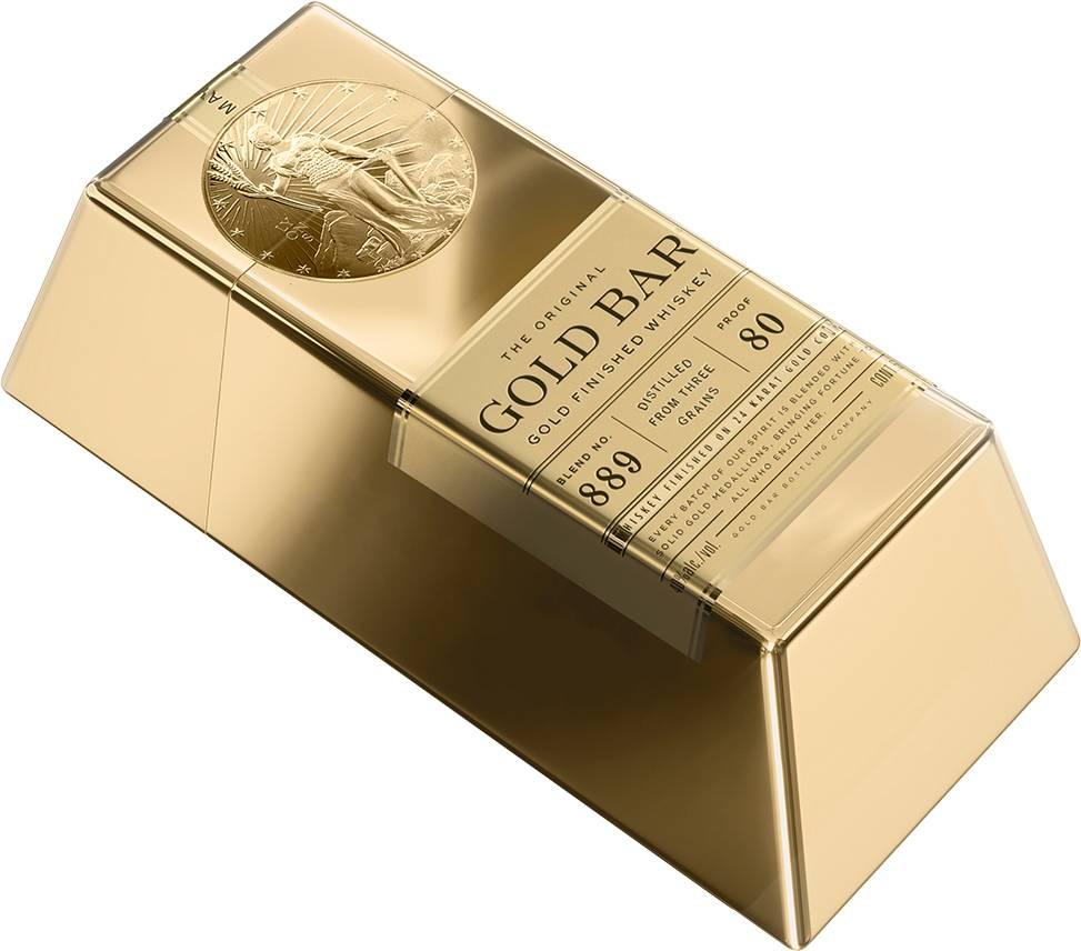 Gold Bar whiskey mini