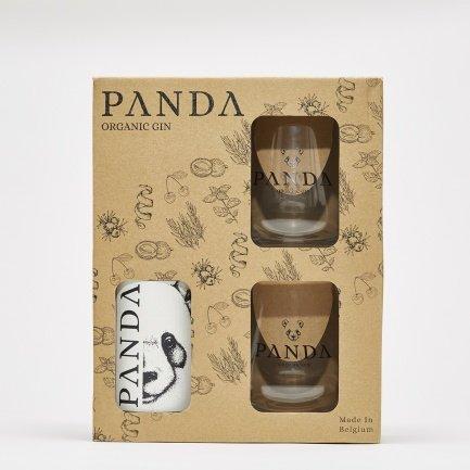 Panda gin + 2 glazen