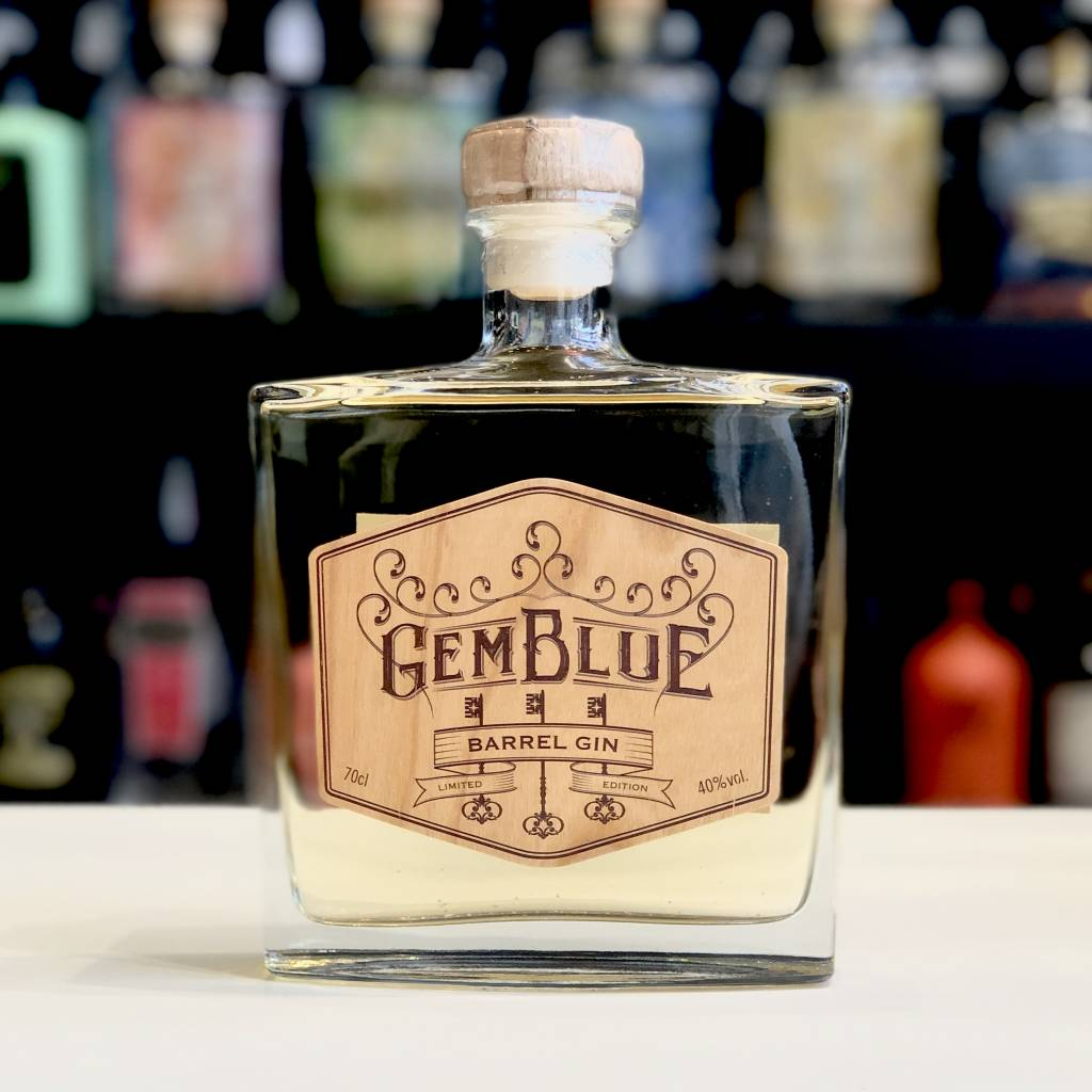 Gemblue gin barrel
