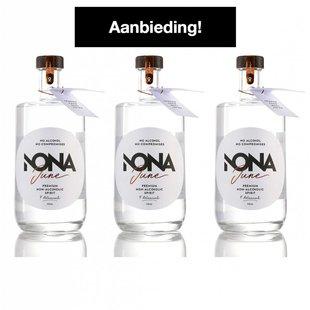 Nona June alcoholvrije spirit 3-stuks