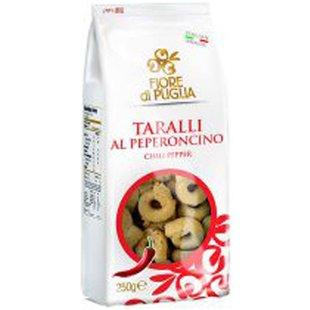 Taralli al Peperoncino Fiore di Puglia
