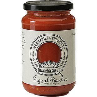 Sugo pomodoro e basilico biologico Via Osteria