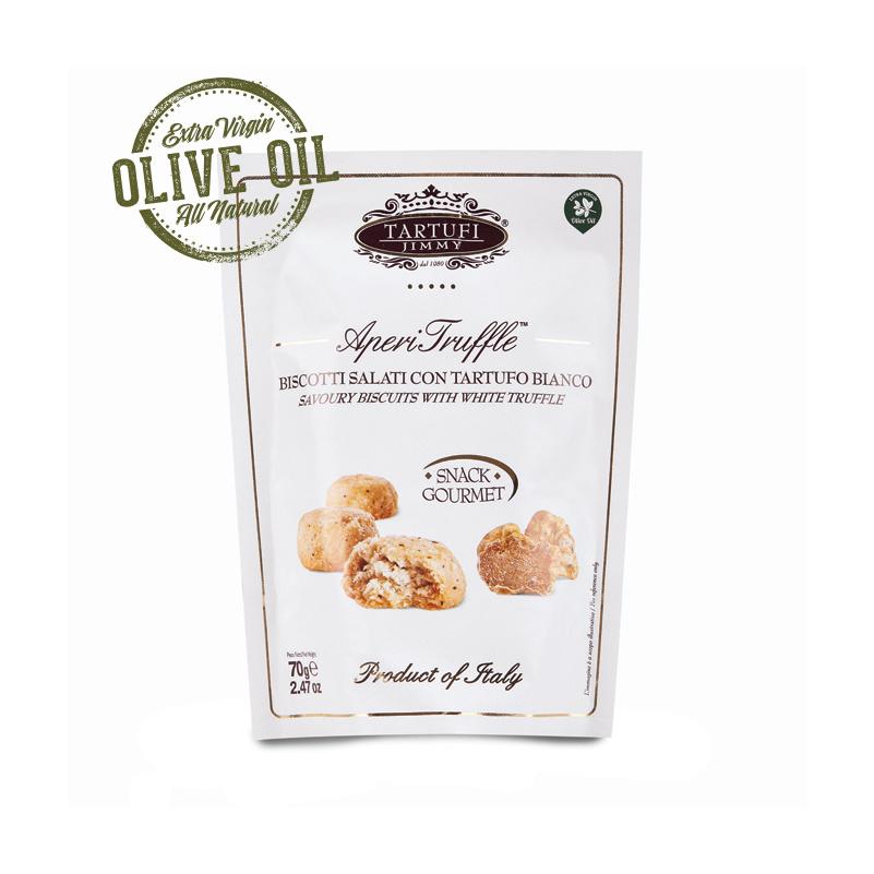 Biscotti Salati al Tartufo Estivo