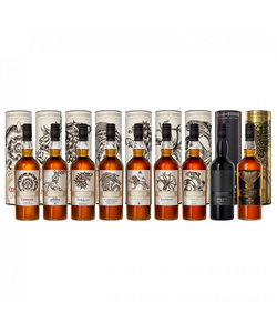 Whisky Game Of Thrones Collection Set - 9 flessen