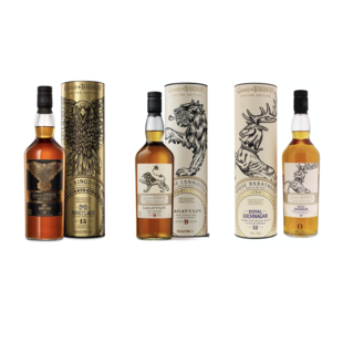Trio pack whisky Game of Thrones