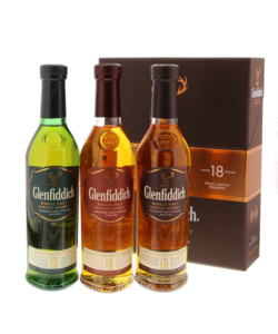 Glenfiddich Discovery Pack 12 Years +15 Years +18 Years 3 x 20 cl