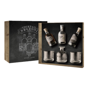 Marzadro Negroni Cocktail Set 3 x 20 cl