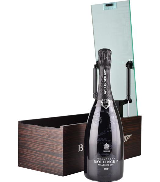 Champagne Bollinger James Bond 007 limited edition Millesimé 2011