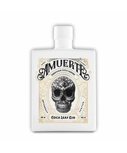 Amuerte cocoa Leaf gin white edition