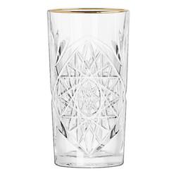 Libbey Hobstar Gold Rim 47cl Longdrinkglas