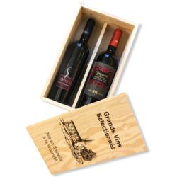 Houten kist Italiaanse wijn