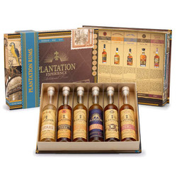 Plantation Rum experience giftpack 6 x 10cl