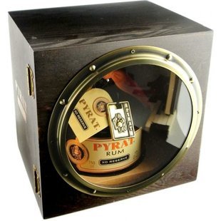 Pyrat Rum XO reserve in houten giftbox