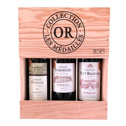 Collection Medailles D'or 3 x 750ml