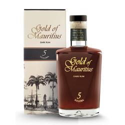 Gold of Mauritius 5 Years Solera Dark Rum