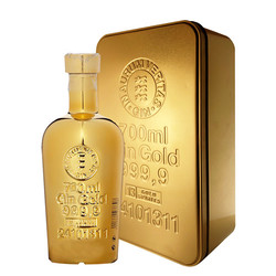 Gold 999.9 Gin In Golden Gift Box