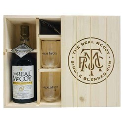 The Real McCoy Prohibition Tradition Rum 12Y  Gift Box