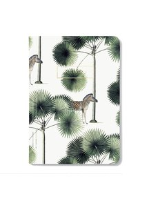 Creative Lab Amsterdam Stripes & Palms Notebook per 6