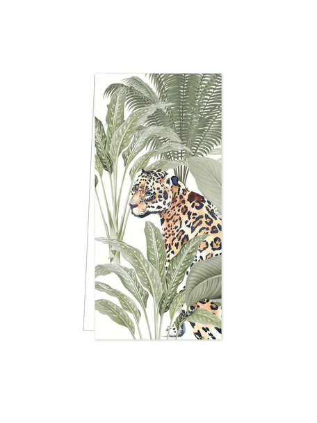 Creative Lab Amsterdam Into the Wild Tiger Flowercard per 20