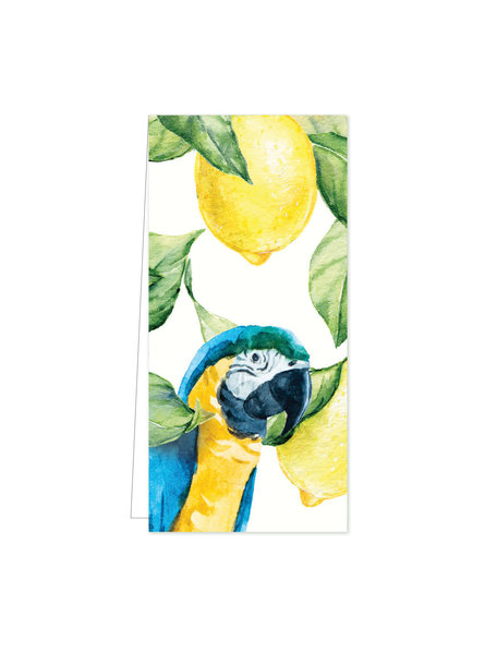 Creative Lab Amsterdam Yellow Lemontree Flowercard per 20