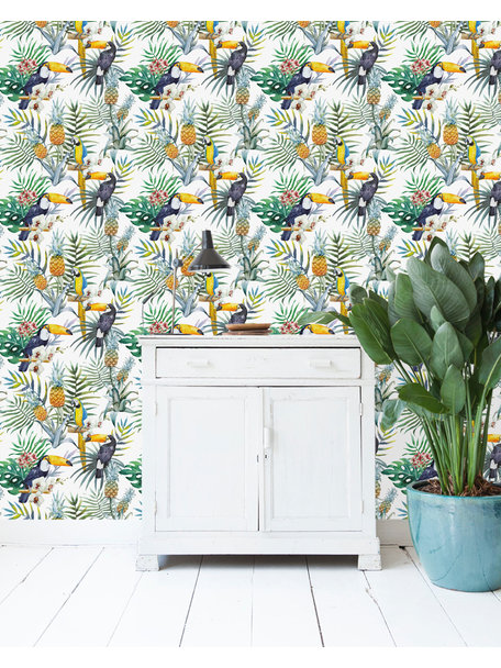 Creative Lab Amsterdam Tucan CLA Wallpaper on roll