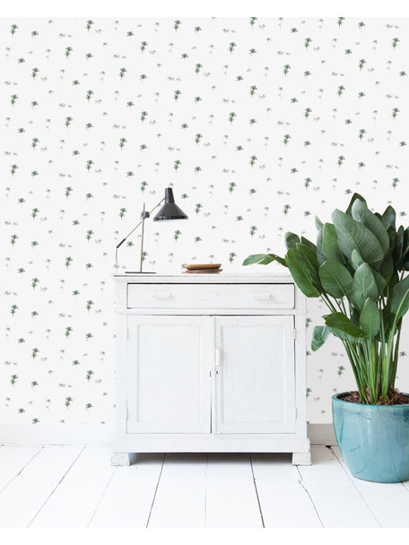 Creative Lab Amsterdam The Elephant Parade Wallpaper on roll