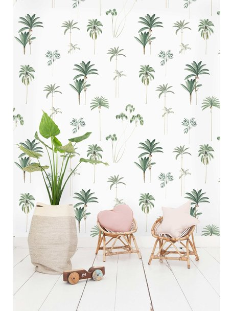 Creative Lab Amsterdam Palms Wallpaper