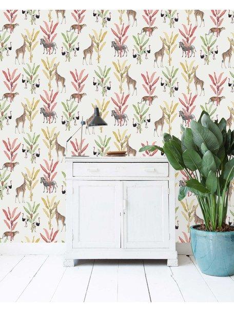 Creative Lab Amsterdam Color Palm Wallpaper