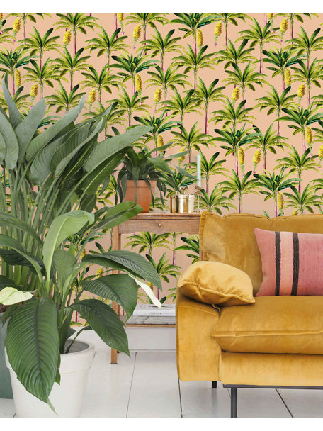 Creative Lab Amsterdam Golden Bananas Wallpaper