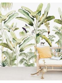 Creative Lab Amsterdam Baby Bananas Wallpaper Mural