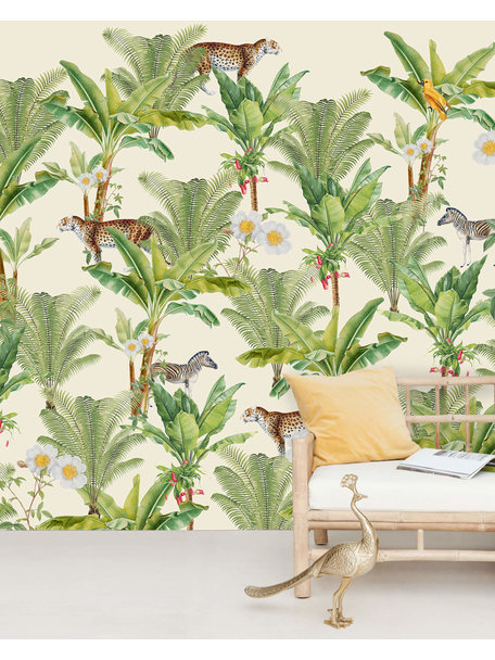Creative Lab Amsterdam Flower Garden Wallpaper Mural