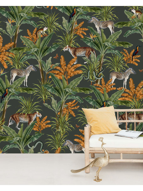 Creative Lab Amsterdam Mighty Jungle Wallpaper Mural