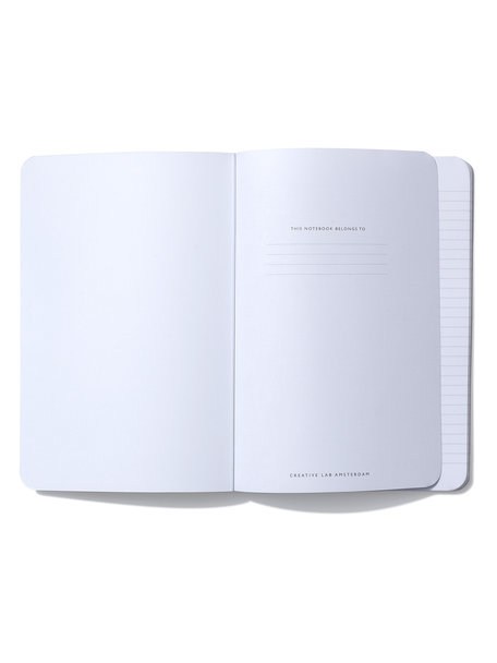 Creative Lab Amsterdam Crowned Notebook per 6