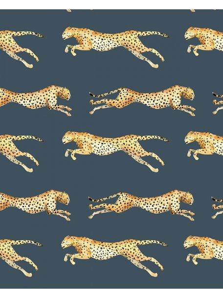Creative Lab Amsterdam Leopard Wallpaper