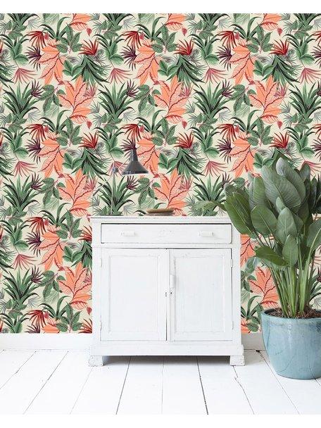 Pink Jungle Wallpaper