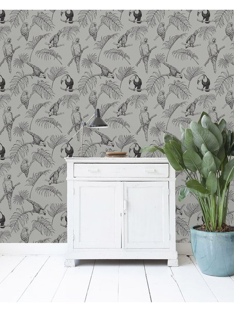 Creative Lab Amsterdam Tropic Tucan Wallpaper