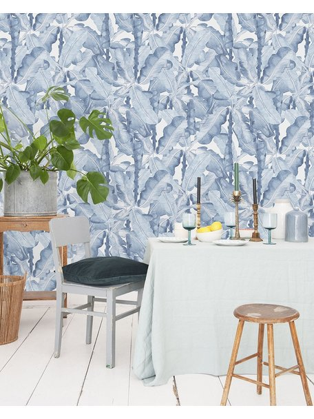 Creative Lab Amsterdam Banana Leaves Watercolour Wallpaper