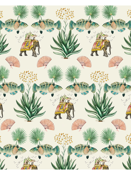 Creative Lab Amsterdam Jaipur Wallpaper