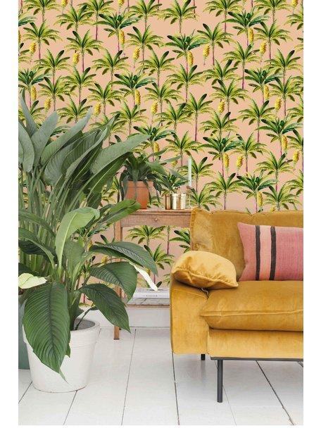 Creative Lab Amsterdam Golden Banana Wallpaper Pink