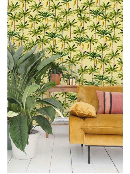 Creative Lab Amsterdam Golden Bananas Wallpaper Yellow