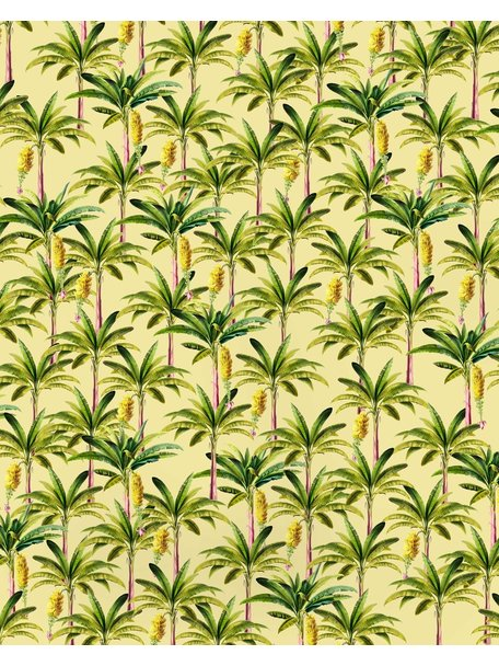 Creative Lab Amsterdam Golden Banana Wallpaper Yellow