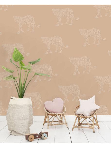 Creative Lab Amsterdam Panther Wallpaper Pink