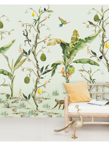 Creative Lab Amsterdam Monkey Life Wallpaper Mural
