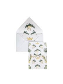 Bananas & Monkeys Greeting Card - Hooray - per 6