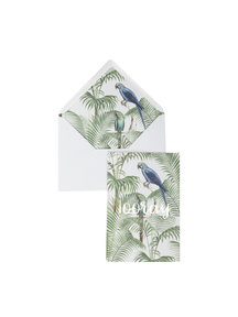 Chat in the Jungle Greeting Card - Hooray - per 6