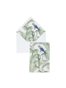 Chat in the Jungle Greeting Card - per 6