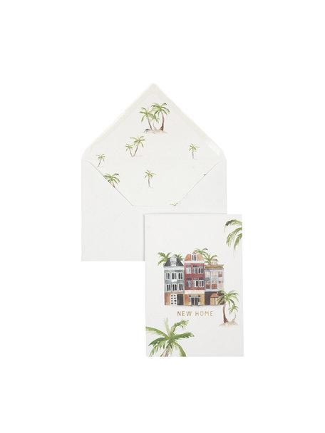 Creative Lab Amsterdam Earth/Home Greeting Card - New Home - per 6