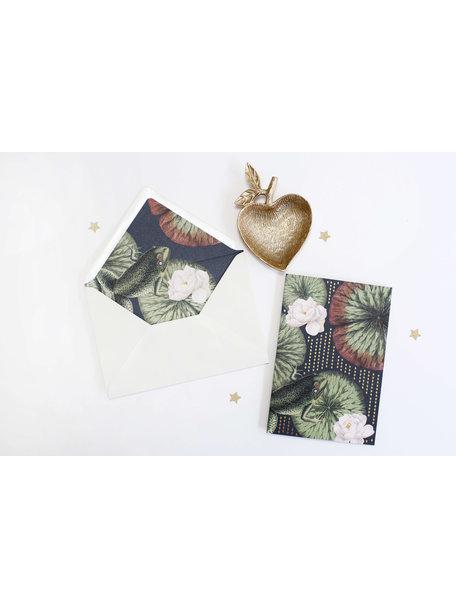 Funky Frog Greeting Card - Joyeux Anniversaire - per 6