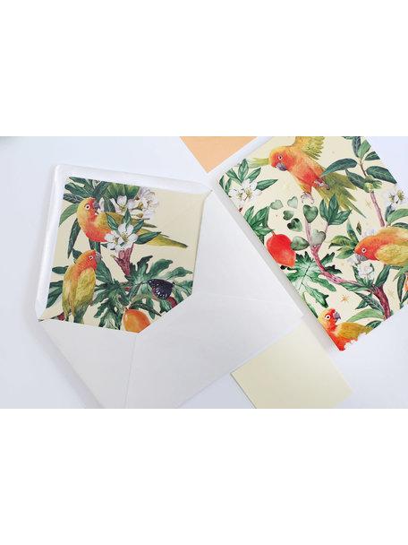 Go go Mango Greeting Card - Alles Gute - per 6