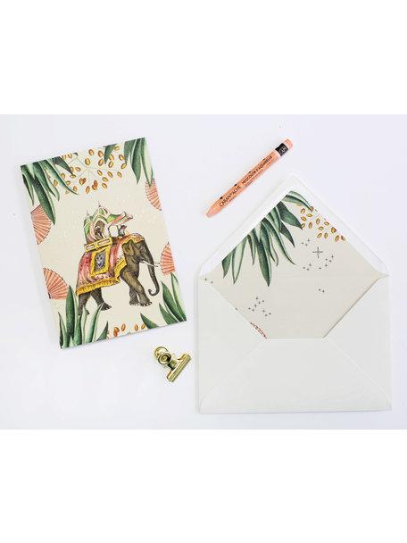 Jaipur Greeting Card - Joyeux Anniversaire - per 6